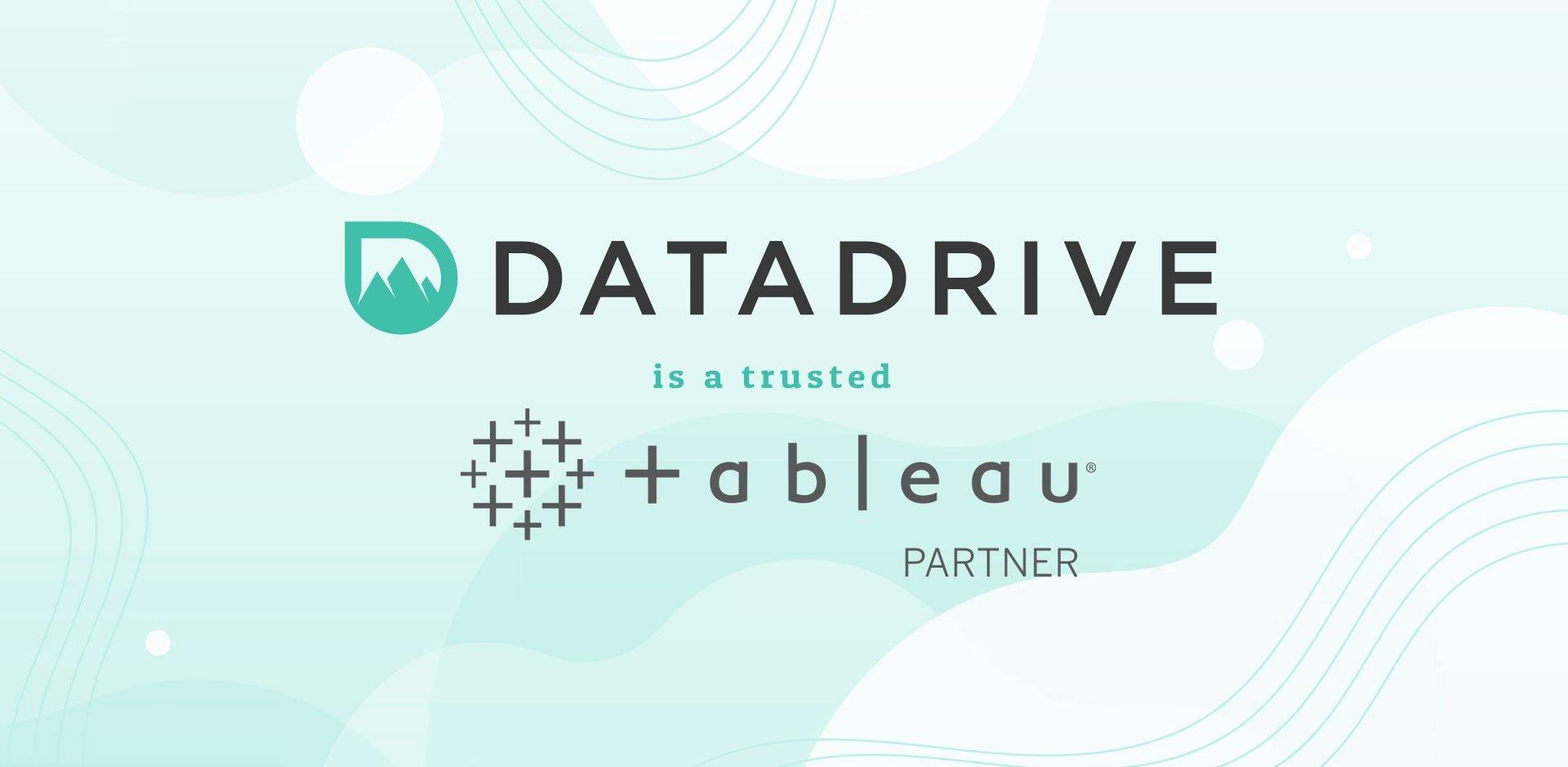 DataDrive is a Tableau Partner